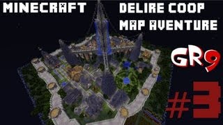 GamesRetro9 sur Minecraft // Délire map aventure en coop // Episode #3