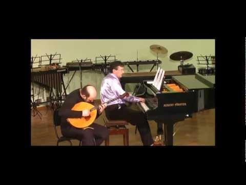 Flight of monster-bumblebee Sergey Fedorov (domra-basso) - Denis Grigoriev (piano)