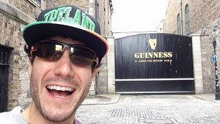 Overly Excited Tourist Can't Handle Ireland