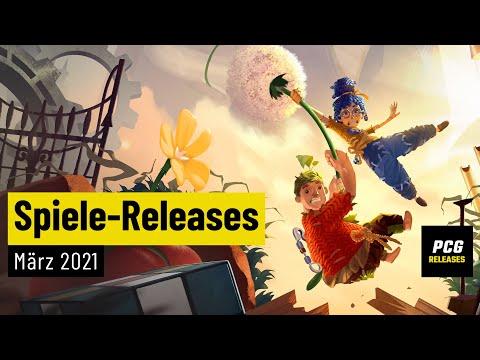 Spiele-Releases im März 2021 | Für PC, PS4, PS5, Xbox One, Xbox Series X und Switch