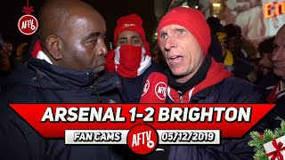 Arsenal 1-2 Brighton | Our Defending Is Terrible! I Fear Relegation!! (Lee Judges)
