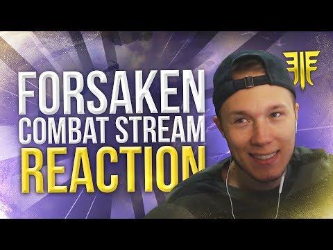 Forsaken Combat Stream Reaction! New Mod System, Random Perks Etc! thumbnail