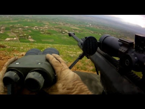 Spec Ops Snipers Engage Taliban Sharpshooters