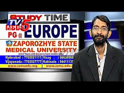 MBBS and PG @ EUROPE | Zaporozhye State Medical University | Study Time | TV5 News