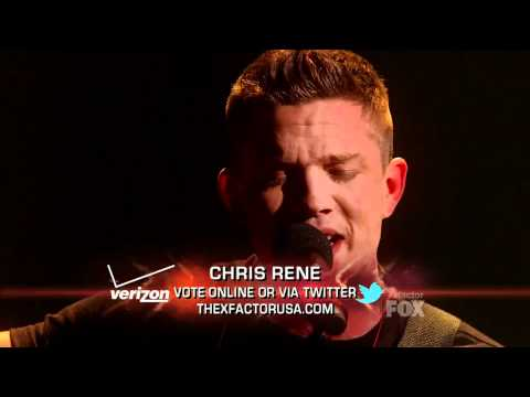 Chris Rene - Where Do We Go from Here (Original Song) - Top 5 Perform - X Factor