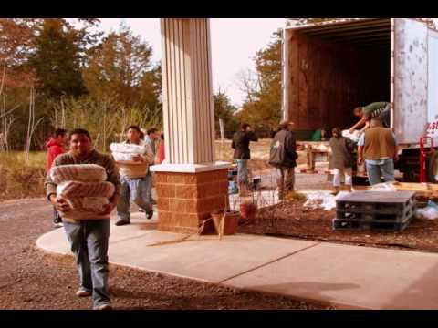 Set-up and distribution of the Emergency Food Pantry at St Andrew Catholic Church in Danville Arkansas. Photos by David Henley Video by Gabbi and Karina.