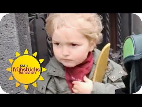 Werden unsere Kinder zu Kriminellen erzogen? Waffe in Kinder-Comic! | SAT.1 Frühstücksfernsehen | TV