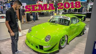 SEMA 2018! What is it like? The SEMA Experience