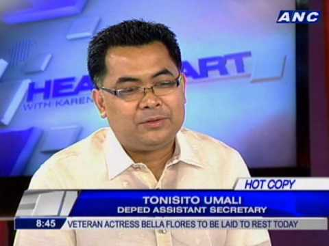 Umali: DepEd will extend P10k tuition assistance to deserving students through GASTPE