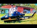 STUNNING GIGANTIC !!! XXXL HUGE RC COBRA AH-1F SCALE MODEL ELECTRIC HELICOPTER FLIGHT DEMONSTRATION