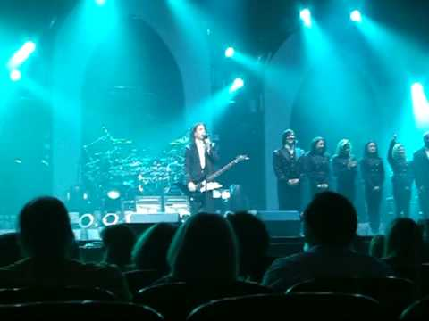 Trans-Siberian Orchestra at the Benedum Center in Pittsburgh, PA April 4, 2010, Easter Sunday. Vocalist Introductions - (Narrator) Bryan Hicks, Danielle Landherr, April Berry, Valentina Porter,...