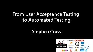 From User Acceptance Testing to Automated Testing