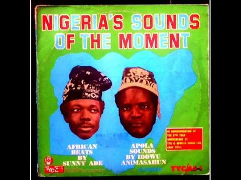 King Sunny Ade & His African Beat - Nigeria's Sound of the Moment (TYC/AS-1 1974)