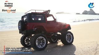 Chase Wind RC CAR, powerful truck for all terrains !
