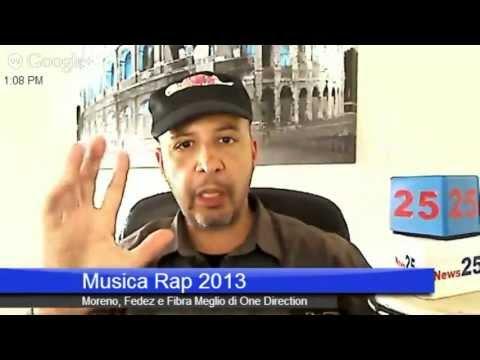 Musica Rap 2013 : Fedez Moreno & Fabri Fibra Meglio di One Direction