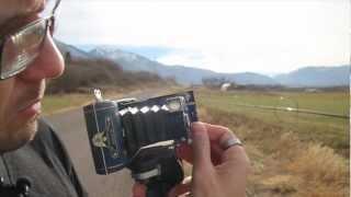 Shooting 35mm film with a Kodak Vest Pocket camera