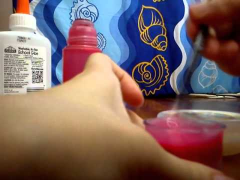 How to make slime or gak without borax!