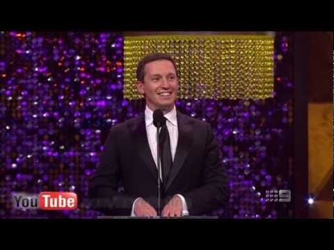 Rove McManus at the Logie Awards (2012)