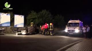 Acidente em Ponte provoca cinco feridos ligeiros