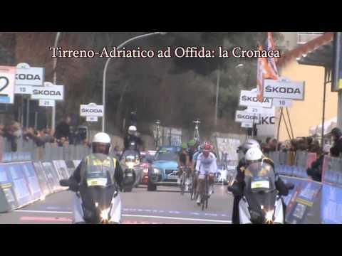 Tirreno Adriatico ad Offida: la cronaca