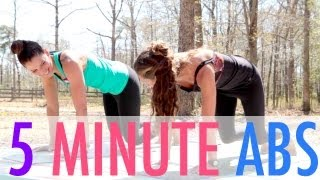 5 Minute Abs Workout for a Flat Belly - BEXLIFE