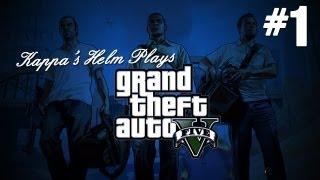 Grand Theft Auto 5 (GTA V) Gameplay Walkthrough Part 1: Bank Heist
