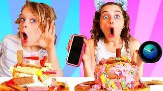 SIRI vs ALEXA CHOOSE MY CAKE INGREDIENTS CHALLENGE!!!