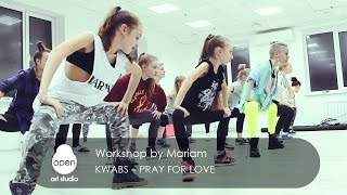 Kwabs – Pray For Love workshop by Mariam - Open Art Studio