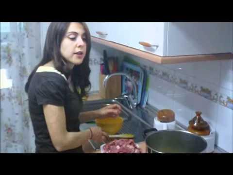 video receta Cous-Cous Verdura y cordero parte1/2