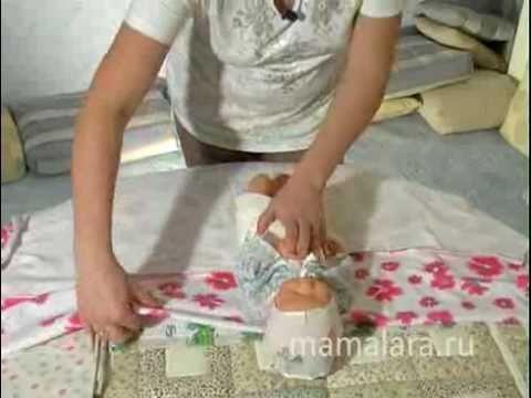Видео как пеленать новорожденного