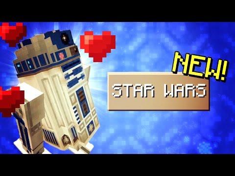 Minecraft Pocket Edition - STAR WARS in Minecraft PE!?