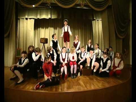 """Музыкальный Театр Детей """"Радуга"""". Сюжет ОРТ."""