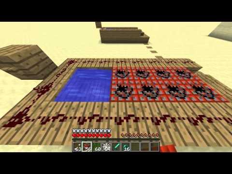 Ciencia en Minecraft. Sobrevivir a cañones de TNT