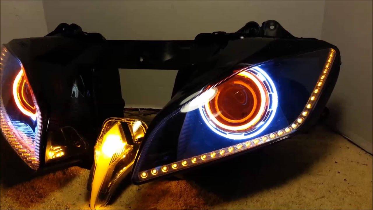 Yamaha R Halo Lights