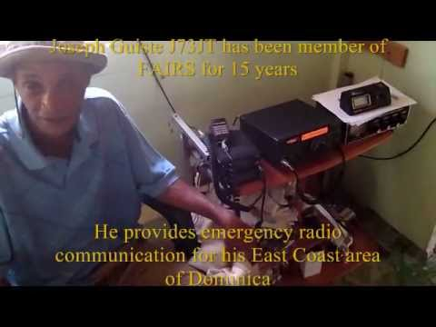 Amateur radio Operations in Dominica J7  N4USA KK4WW