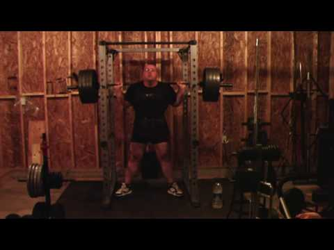 Heavy Squats 26 July 2009 Image 1