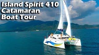 Island Spirit 410 Catamaran - Boat Tour