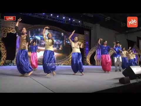 Amazing group Dance Performance For AR Rahman Hit Songs at American Telugu Convention 2018 | YOYO TV