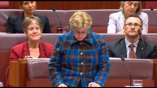 Christine Milne's Budget Reply Speech 2013