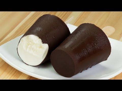 Без консервантов и красителей! Идеальный десерт для детей -  пломбир с шоколадом! | Appetitno.TV