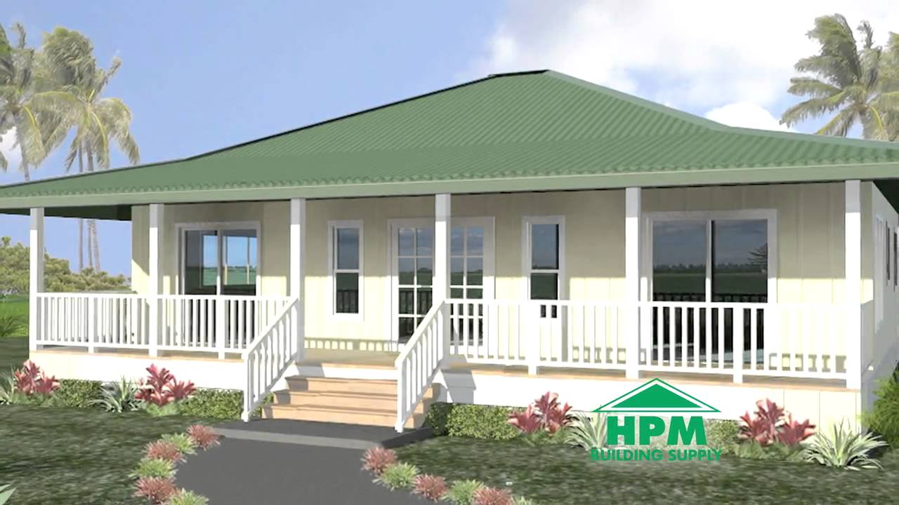 Hpm plantation series packaged homes 2011 04 youtube for Hawaii package homes