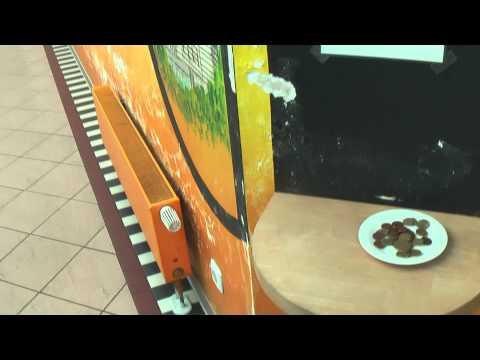 ГЕРМАНИЯ: Платный туалет на заправке в Берлине (Berlin Germany)