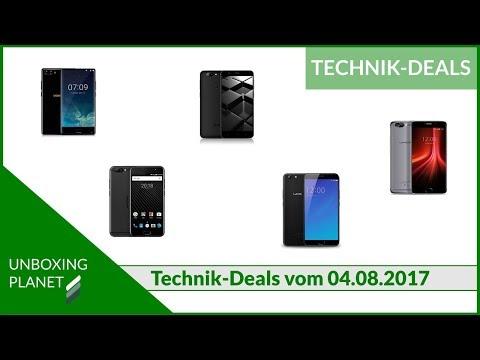 5 neue China-Smartphones - Technik-Deals 04-08-2017