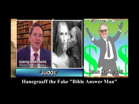 Hank Hanegraaff, Walter Martin's Greedy Judas, the Fake Bible Answer Man