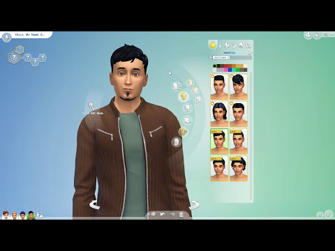 The Sims 4 Get To Work: Create-a-Sim Showcase