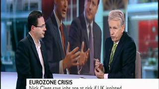 Nick Clegg and Mark Pack on the Euro-summit fallout