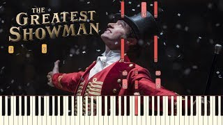 "download lagu The Greatest Showman - ""from Now On"" Piano Tutorial gratis"