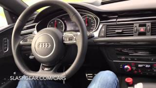 Audi RS 7 piloted driving experience!