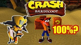 LIVE de Crash Bandicoot - O primeiro do Playstation! #META