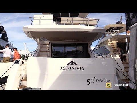 2019 Astondoa 52 Flybridge - Walkthrough - 2019 Miami Yacht Show